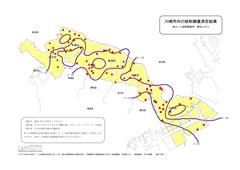 放射線測定地図・川崎全市(等値線)