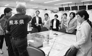 熊本県・益城町の被災状況を視察